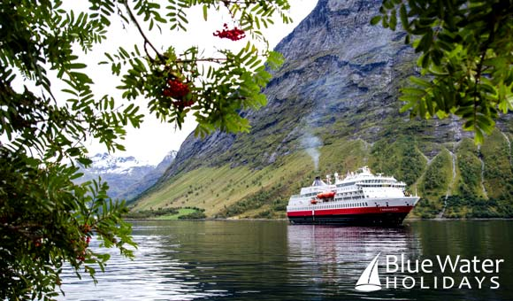 Cruise into breathtaking fjords