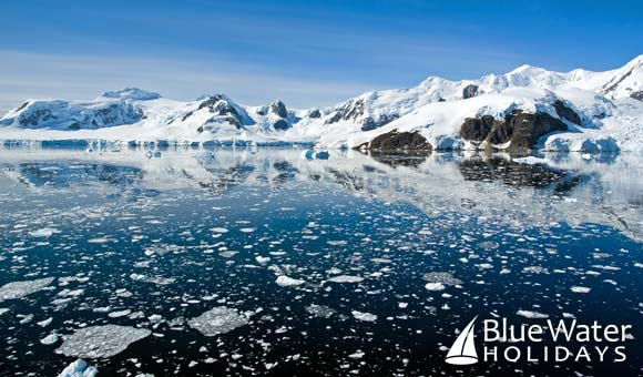 Breathtaking Paradise Bay in Antarctica
