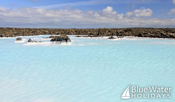 Geothermal pool near the Blue Lagoon