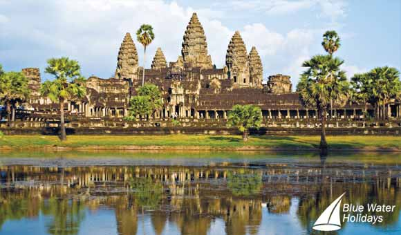 Discover the iconic Angkor Wat as you journey along the Mekong