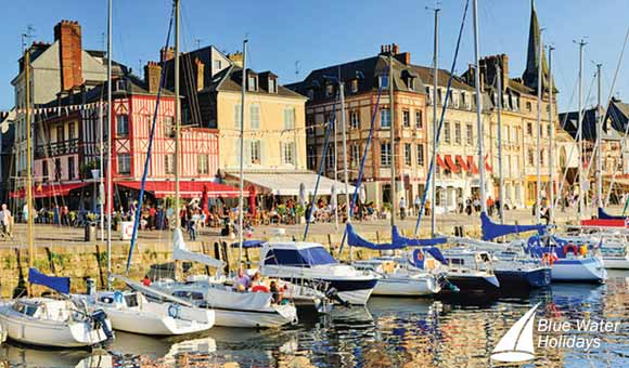Visit the charming port of Honfleur on a Seine cruise