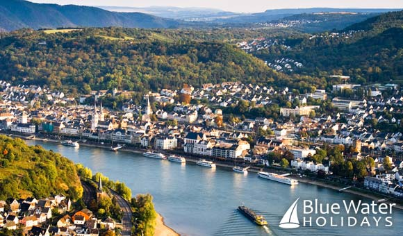The beautiful town of Boppard