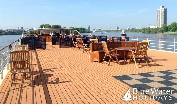 Take in the ever-changing vistas from the Sun Deck