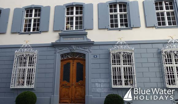 The magnificent Blue House in Basel