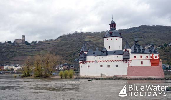 Pfalzgrafenstein Castle on the Rhine