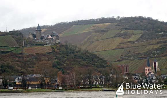 Scenery along the Rhine