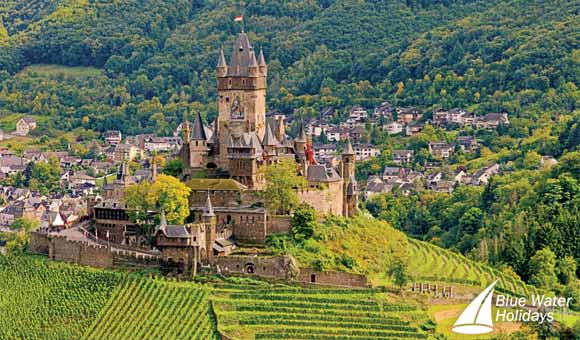 Cochem on the River Rhine