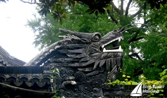 Dragon at the Yuyuan Garden