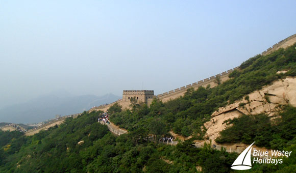 Walk along the Badaling Hills section of the wall