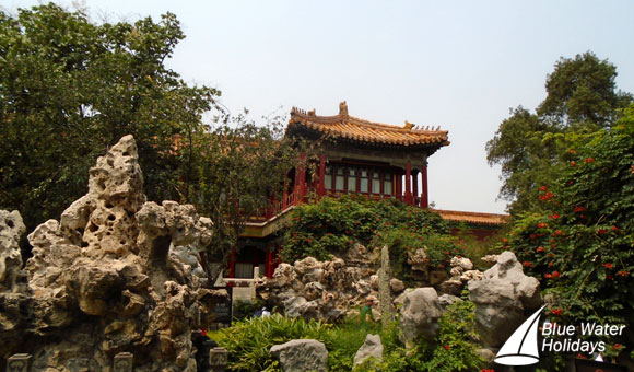The beautiful Imperial Garden, Forbidden City