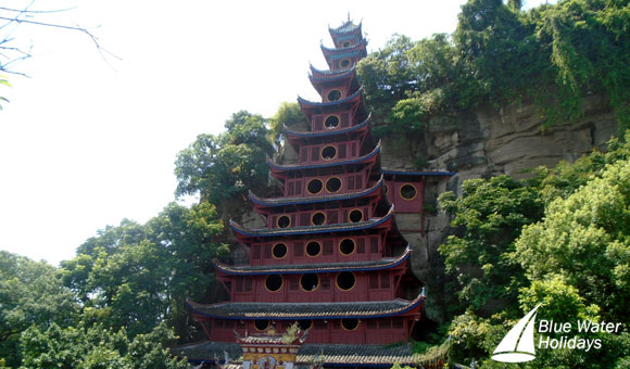 Visit the Shibaozhai Temple on your Yangtze River cruise