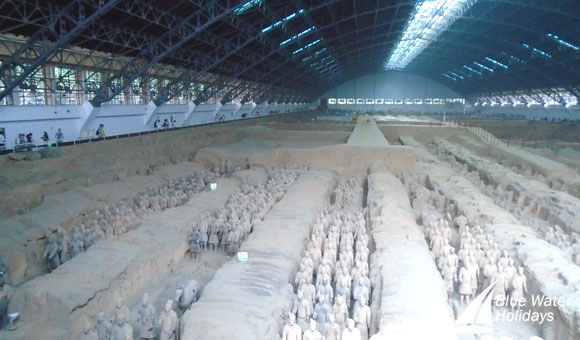The Terra Cotta Army was discovered in the 1970s
