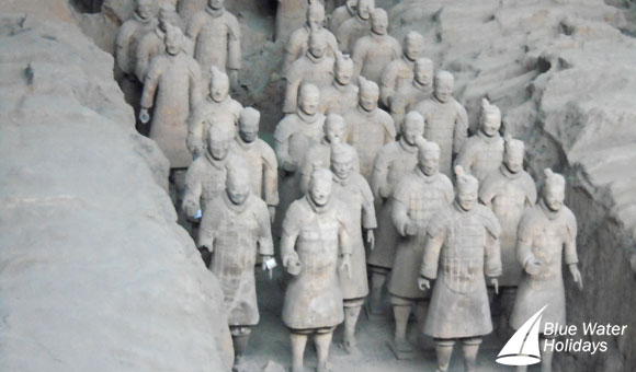 Terra Cotta Warriors in Xi'an