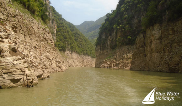 The dramatic Three Gorges