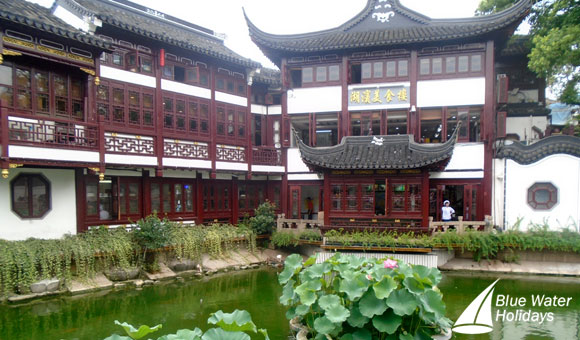 Visit the beautiful Yuyuan Garden which dates back to the Ming Dynasty