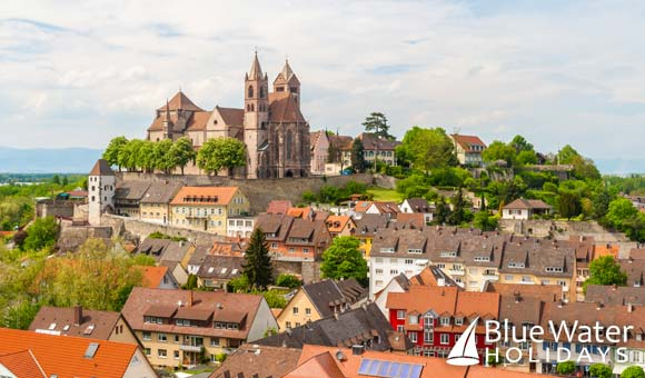 Colourful town of Breisach