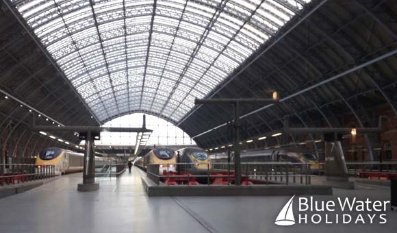 Travel by Eurostar from St Pancras