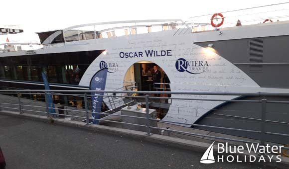 Brand new ship Oscar Wilde