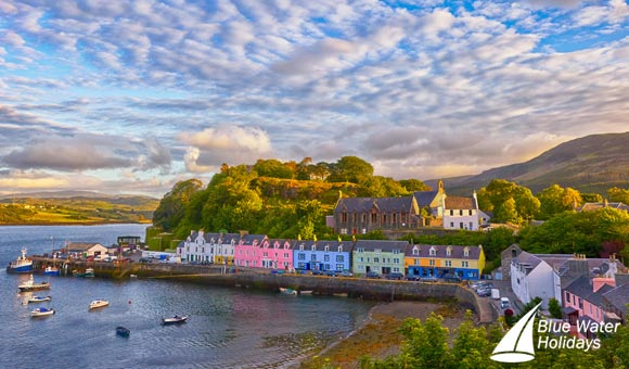 Colourful Portree on the Isle of Skye