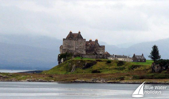 Duart Castle, the ancestral home of the Maclean Clan