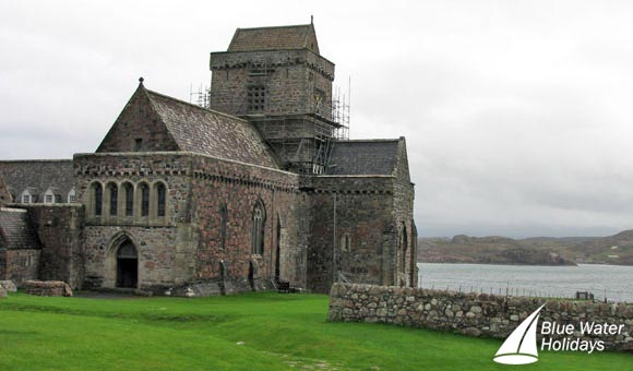 The beautiful Iona Abbey