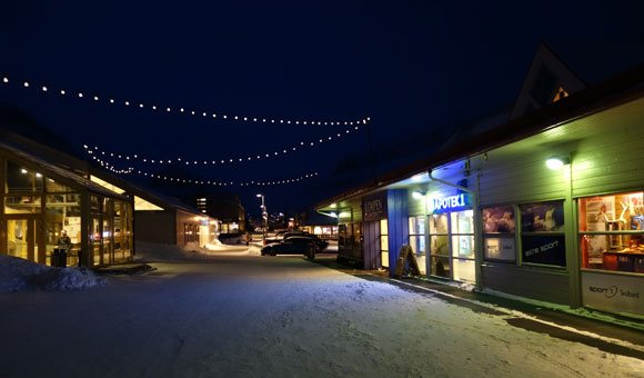 Shops in Longyearbyen