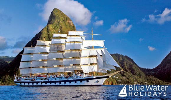 Enjoy a tall ship cruise in the Caribbean, Mediterranean or Asia
