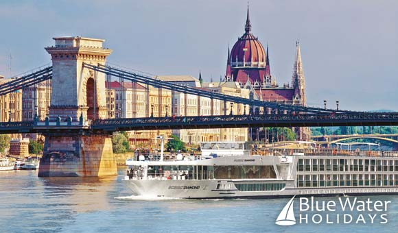 Visit impressive capital cities along the Danube