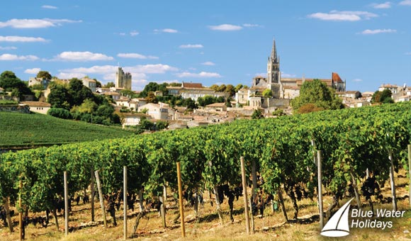 Vineyards and Chateaux of Bordeaux