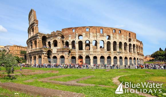 The spectacular Colosseum in Rome