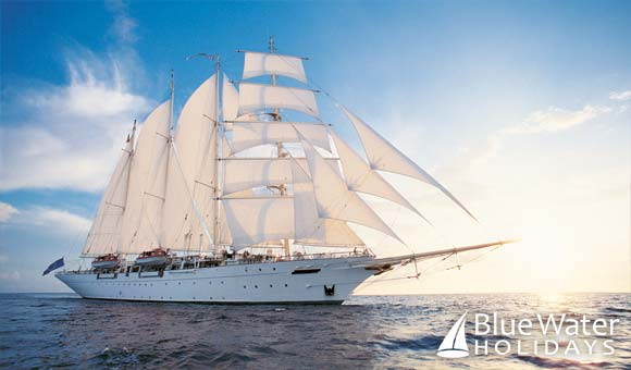 Join Star Clipper on a cruise to the beautiful Indonesian Islands