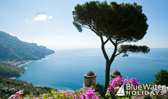 Join Royal Clipper on a cruise along the picturesque Amalfi Coast