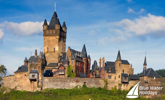 See the fairytale castles along the River Rhine