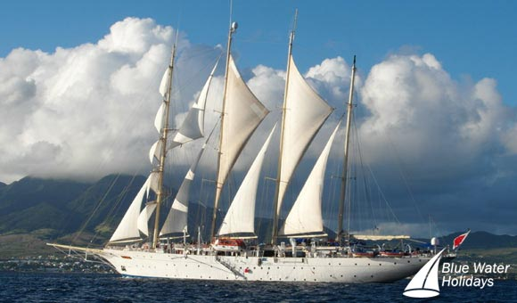 Star Clipper under sail