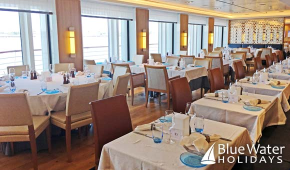 Enjoy regional cuisine in The Restaurant