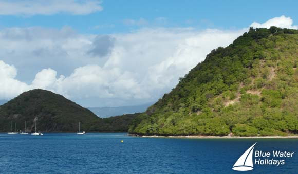 Royal Clipper cruises to the idyllic Iles des Saintes archipelago