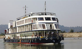 Pandaw River Adventures Ship - MV Mahabaahu