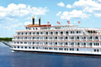 American Cruise Lines Ship - Queen of the Mississippi