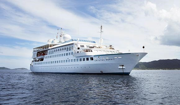 Crystal Esprit at Sea