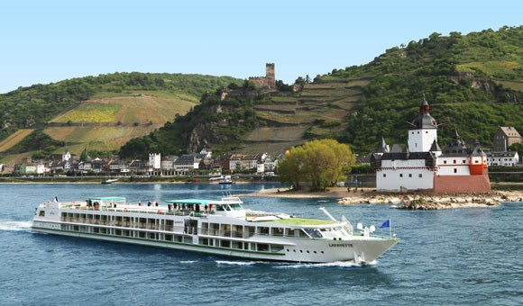 Lafayette on the River Rhine