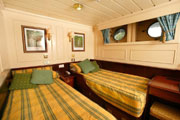 Lower Deck twin cabin on MV Lord of the Glens
