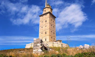 Hercules Tower, La Coruna