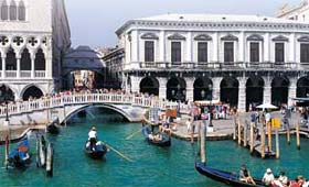 Venice - Bridge of Sighs (in background)