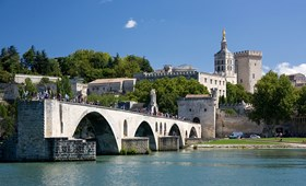 The famous Pont at Avignon