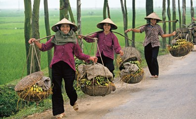Women in Hanoi