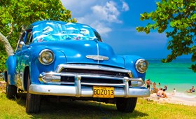 Traditional Cuba car