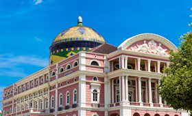 Amazon Theatre, Manaus, Brazil