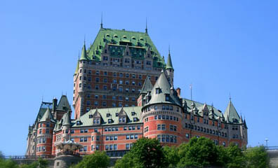 Castle in Quebec City