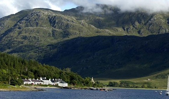 Visit the most remote pub in the British Isles on Inverie
