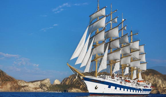 Authentic voyages under full sail